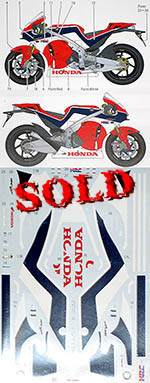 STUDIO 27 1/12 HONDA RC213V-S DRESS UP DECAL for TAMIYA