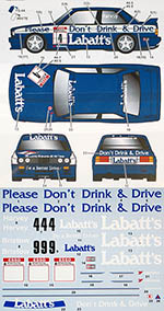 STUDIO 27 1/24 BMW M3 E30 LABATT'S BTCC 1991 for AOSHIMA
