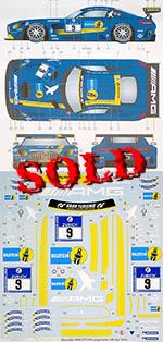 STUDIO 27 1/24 MERCEDES AMG GT3 FALKEN #9 NURBURGRING 2016