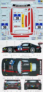 STUDIO 27 1/24 MERCEDES AMG GT3 #30 NURBURGRING 24h 2016