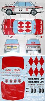 STUDIO 27 1/24 BMW 2002 TI MONTE CARLO 1975 for HASEGAWA