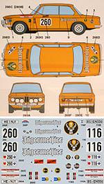 STUDIO 27 1/24 BMW 2002 TI OLYMPIA RALLY 73 JAGERMEISSTER HASEGAW
