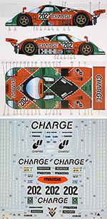 STUDIO 27 1/24 MAZDA 767B CHARGE #202 LE MANS 1989 HASEGAWA