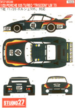 STUDIO 27 1/20 PORSCHE 935 TURBO 'TRISCONI' 1979 LE MANS