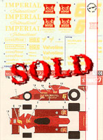 STUDIO 27 1/12 LOTUS MKIII IMPERIAL JAPAN 1978 GP Season
