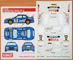 STUDIO 27 1/24 WRC SELENIA/BETA IRC 00 TAMIYA 1/24 SUBARU IMPREZA
