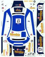 STUDIO 27 1/24 WRC HAVOLINE POSSUM BOURNE NZ 00TAMIYA 1/24 SUBARU
