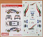 STUDIO 27 1/24 WRC OMAN NEW ZEALAND 00 TAMIYA 1/24 SUBARU IMPREZA