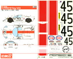 STUDIO 27 1/12 PORSCHE 910 'Team Wicky' Le Mans 1968