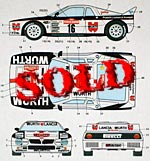 STUDIO 27 1/24 LANCIA 037 RALLY WURTH RALLY SAN REMO 1983