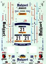 STUDIO 27 1/24 WRC CATALUNYA 00 DECAL TAMIYA 1/24 SUBARU IMPREZA
