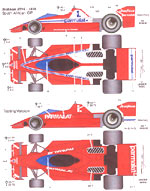 STUDIO 27 1/20 BRABHAM BT46 SOUTH AFRICA 1978 GP