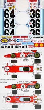 STUDIO 27 1/12 312B 1970 GP Season REGAZZONI ICKX