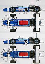 STUDIO 27 1/12 LOTUS 49 ROB WALKER 1973 GP Season