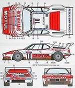 STUDIO 27 1/24 BMW M1 PROCAR ROTHMANS MOTUL TOUR DE CORSE 1982