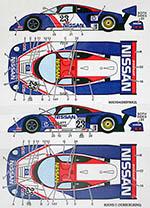 STUDIO 27 1/24 NISSAN R89C WSPC / SAT SUPERCUP #23 '89 BAILEY