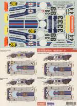 STUDIO 27 1/24 MARTINI 1970 PORSCHE 917K