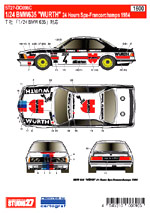 STUDIO 27 1/24 BMW 635 CSi 'WURTH' 24 Hrs. Spa 1984
