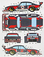 STUDIO 27 1/24 TAMIYA 1/24 CAPRI ZAKSPEED WURTH 80 (BLACK CAR)