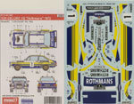 STUDIO 27 1/24 FORD ESCORT RS 'ROTHMANS' 1979