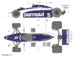 STUDIO 27 1/20 BRABHAM BT50 1981 UK