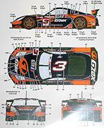 STUDIO 27 1/24 NISSAN Z #3 KANEISHI GOMAS STING RACING JGTC 2004