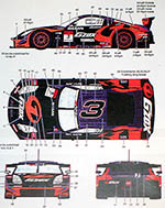 STUDIO 27 1/24 NISSAN Z #3 KANEISHI GOMAS HASEMI SPORT JGTC 2005