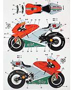 STUDIO 27 1/12 CAPIROSSI TAMIYA 1/12 DUCATI MOTO GP ITALY 06