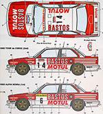 STUDIO 27 1/24 BMW M3 Gr. A 1989 BASTOS MOTUL TOUR DE CORSE