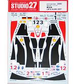 STUDIO 27 1/24 AUDI R10 LE MANS & ALMS 2007