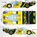 STUDIO 27 1/24 PORSCHE 956 NEW MAN LE MANS 1985