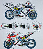 STUDIO 27 1/12 STUDIO 27 '09 FRANCE DE PUNIET TAMIYA 1/12 RC211V