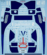 STUDIO 27 1/20 STUDIO 27 REPLACEMENT DECAL for TAMIYA 1/20 BT46