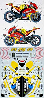 STUDIO 27 1/12 STUDIO 27 DECAL YZR-M1 TECH3 '05 TONI ELIAS TAMIYA