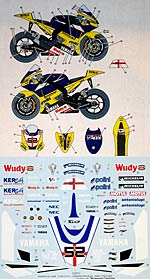 STUDIO 27 1/12 STUDIO 27 DECAL YZR-M1 TECH3 '08 TOESLAND TAMIYA