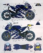 STUDIO 27 1/12 #46 #5 IRTA TEST YZR-M1 MOTO GP 07 1/12 TAMIYA