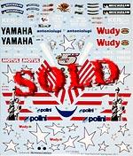 STUDIO 27 1/12 #5 MOTO GP USA 2008 EDWARDS DECAL YZR-M1