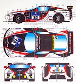 STUDIO 27 1/24 ST27 NURNBURGRING 24HR DECAL TAMIYA 1/24 LEXUS LFA