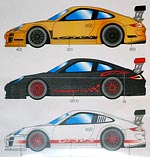 STUDIO 27 1/24 DRESS UP DECAL for FUJIMI PORSCHE 911 GT3 RS