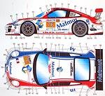 STUDIO 27 1/24 ST27 MATMUT IMSA DECAL FUJIMI 1/24 PORSCHE 911 GT3