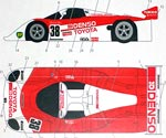 STUDIO 27 1/24 STUDIO 27 89CV DENSO JSPC 89 DECAL for TAMIYA 1/24