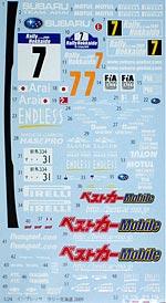 STUDIO 27 1/24 iMPREZA HOKKAIDO 09 DECAL AOSHIMA SUBARU IMPREZA