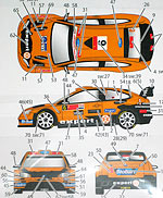 STUDIO 27 1/24 FORD FOCUS EXPERT 2010 DECAL for SIMIL'R 1/24