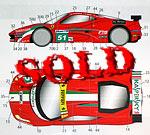 STUDIO 27 1/24 FERRARI 458 AF Corse #51 LM 24hrs (2011) FUJIMI