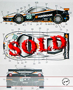 STUDIO 27 1/24 FERRARI 458 HANKOOK DECAL #89 LM '11 FUJIMI 1/24