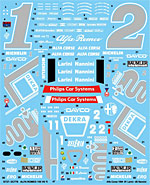 STUDIO 27 1/24 DTM 94 NANNINI DECAL for TAMIYA 1/24 ALFA 155 V6