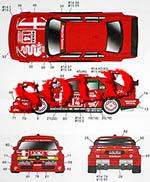 STUDIO 27 1/24 ALFA ROMEO 155 V6 TI #7 #8 #14 #15 DTM 1993