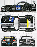 STUDIO 27 1/24 BMW Z4 DÖRR #69 NUR 24Hr '10 '11 for FUJIMI