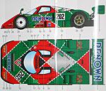 STUDIO 27 1/24 MAZDA 787B CHARGE #202 JSPC 1991 DECAL