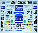 STUDIO 27 1/24 MAZDA 787B #201 ART SPORTS LM 1990